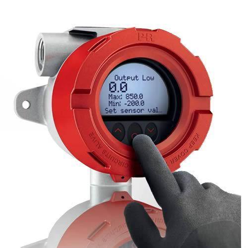 Transmissor de temperatura com protocolo